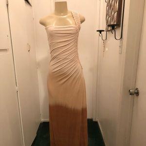Sky maxi dress size M